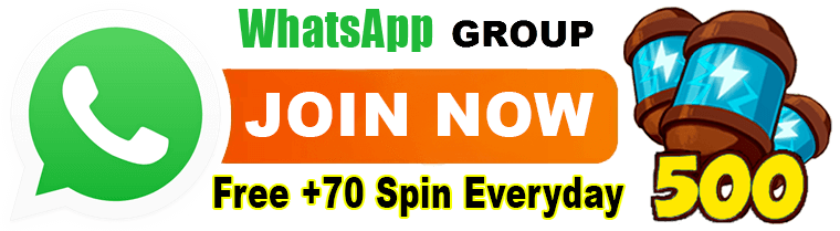 Coin Master Free Spins whatsapp